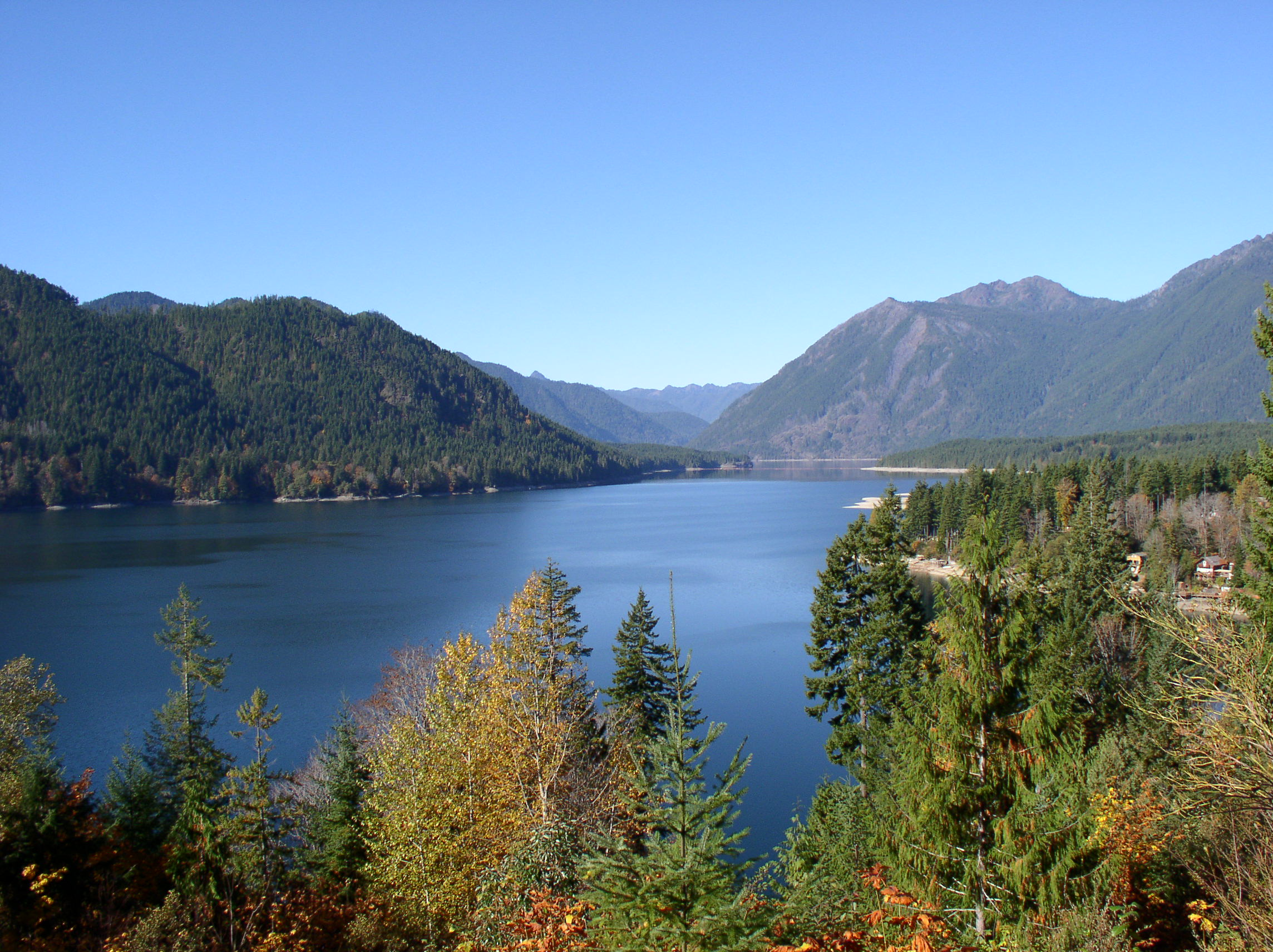 Lake Cushman, Olympic Peninsula, Washington